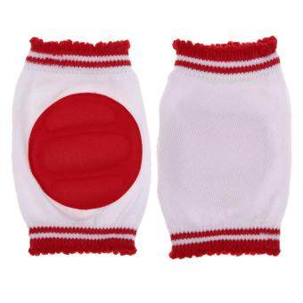 Safety Crawling Elbow Cushion Infant Toddlers Baby Knee PadsProtector Red (Intl)
