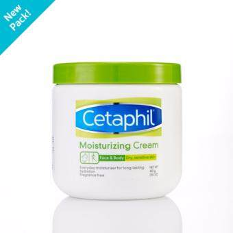Cetaphil Moisturizing Cream for Dry, Sensitive Skin 453 g