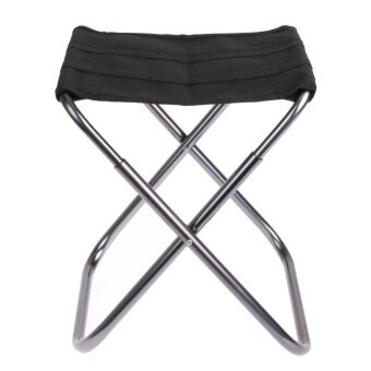 Aluminium Alloy Folding Fishing Stool Portable Chair for Outdoors - intl