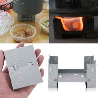 YOSOO-95 x 75mm Outdoor Army Camping Folding Portable Pocket StoveBurner - intl