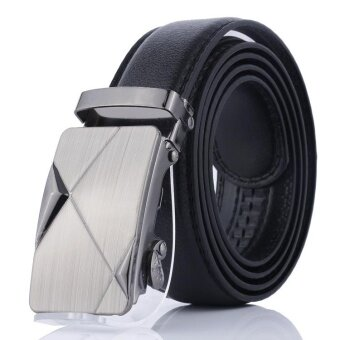 Men Belt 2017 New Designer Automatic Buckle PU Leather men belt Fisaion belts for men - intl