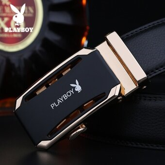 Men's Belt Buckle Leather Belt Automatic Leather Belt Brand Leisure Suit Young Young Men - intl