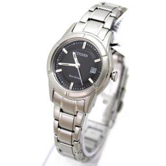 Citizen Watch Eco-Drive Silver Stainless-Steel Case Stainless-Steel Bracelet Ladies NWT + Warranty FE1030-50E