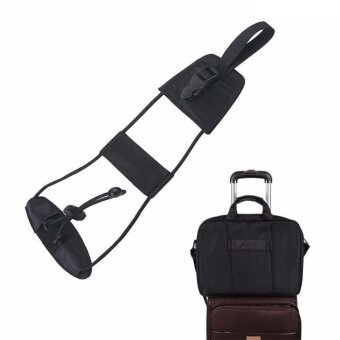 Travel Luggage Suitcase Adjustable Belt Add A Bag Strap Carry On Bungee Travel - intl