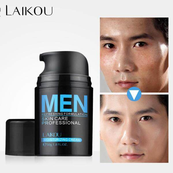 LAIKOU Men Anti Aging Face Cream Hyaluronic Acid Moisturizing Facial Cream Anti Wrinkle Whitening Day Cream For Mens
