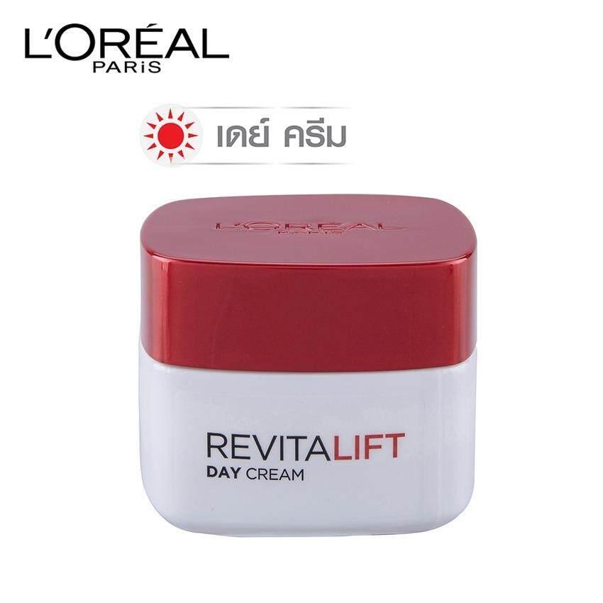 ขาย ลอรีอัล ปารีส รีไวทัลลิฟท์ เดย์ครีม Spf23 Pa แอนตี้ ริงเคิล เฟิร์มมิ่ง ครีมบำรุงสูตรกลางวัน 50 มล L Oreal Paris Revitalift Day Cream Spf23 Pa Anti Wrinkle Firming 50 Ml