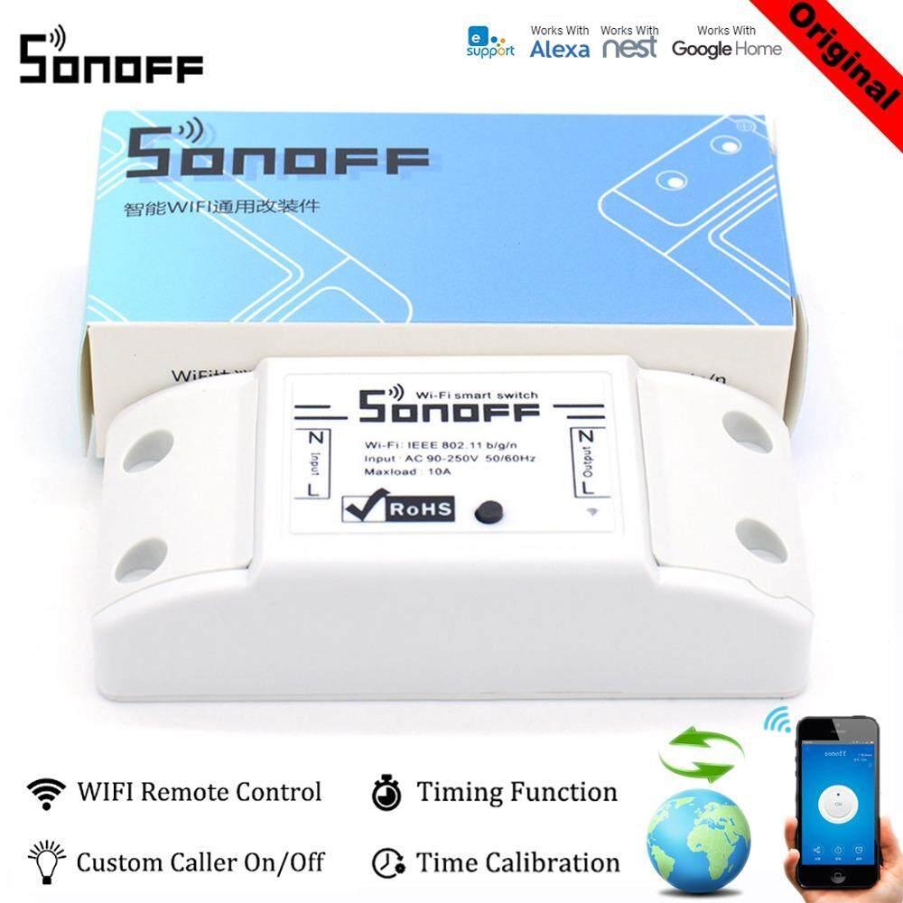 ราคา Sonoff Wifi Wireless Smart Switch For Mqtt Coap Smart Home Intl Sonoff