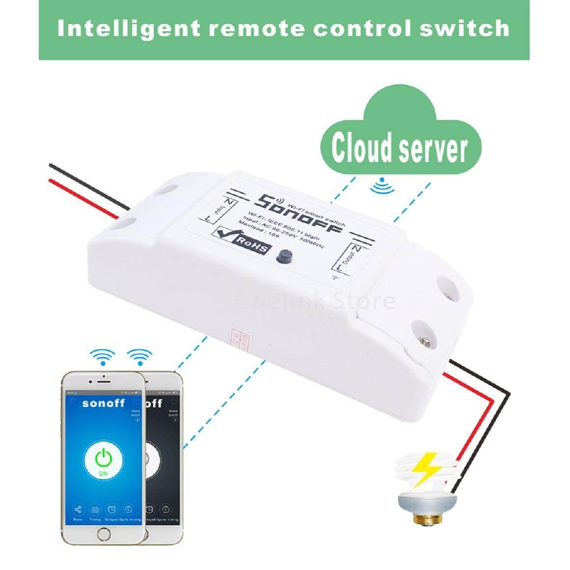โปรโมชั่น ควบคุมอุปกรณ์ผ่าน Wifi ด้วย Sonoff Basic Sonoff