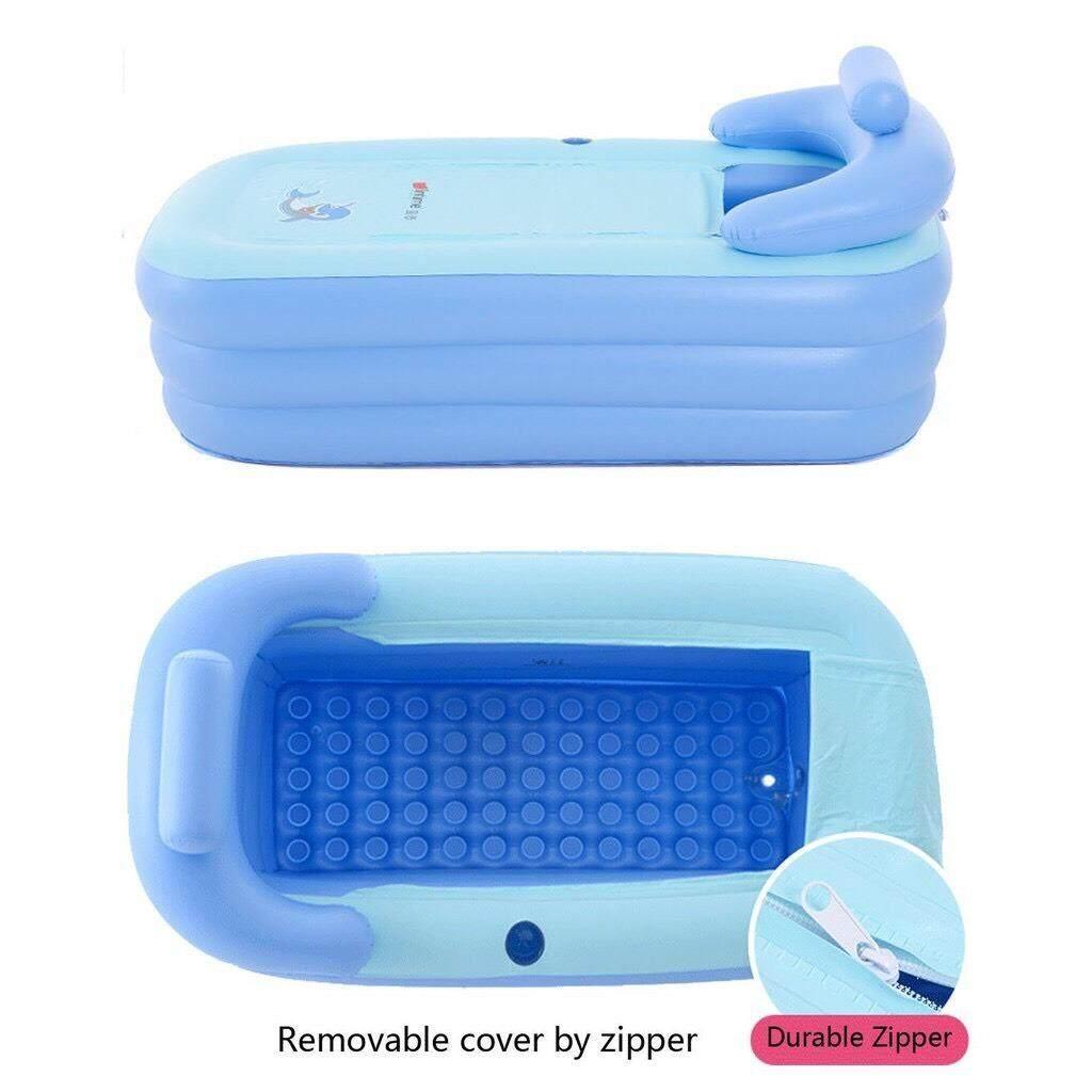 ขาย Intime อ่างสปา อ่างเป่าลม อ่างอาบน้ำ ผู้ใหญ่ Spa Bathtub Inflatable สีฟ้า ผู้ค้าส่ง