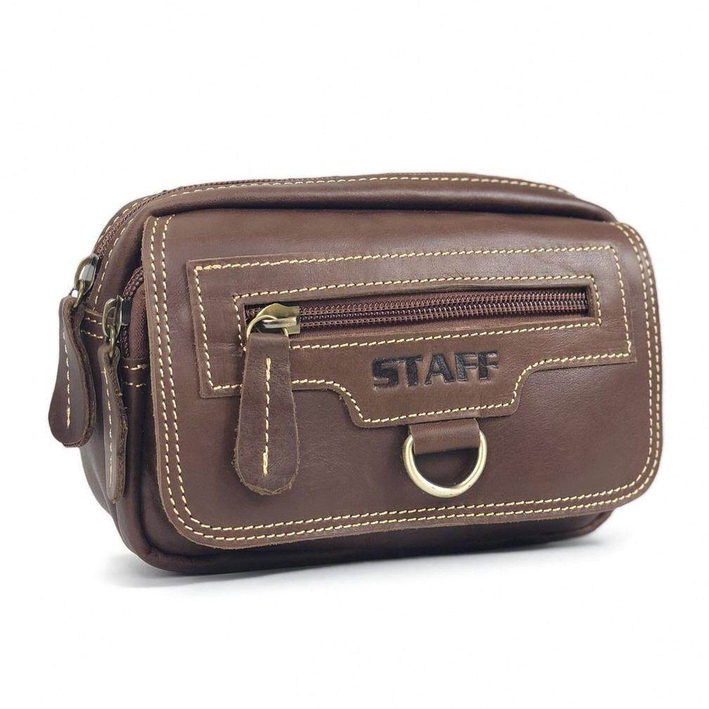 ซื้อ Chinatown Leather กระเป๋าหนังแท้ใส่มือถือแนวนอนฝาซิป ใส่มือถือ Iphone 7 8 พลัส ออนไลน์