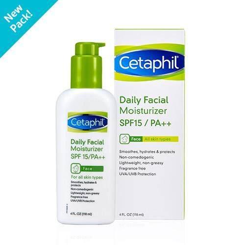 ราคา Cetaphil Daily F*c**l Moisturizer Spf15 Pa 118 Ml Cetaphil ออนไลน์