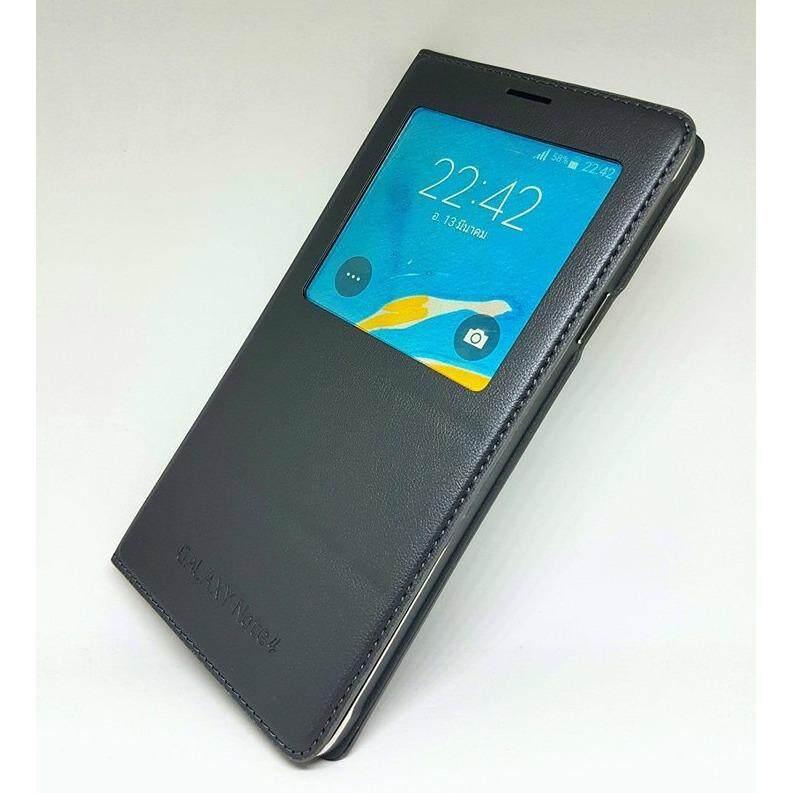ขาย Samsung S View Note 4 Cover Samsung Galaxy Note 4 ไม่มีกล่อง No Box Samsung เป็นต้นฉบับ