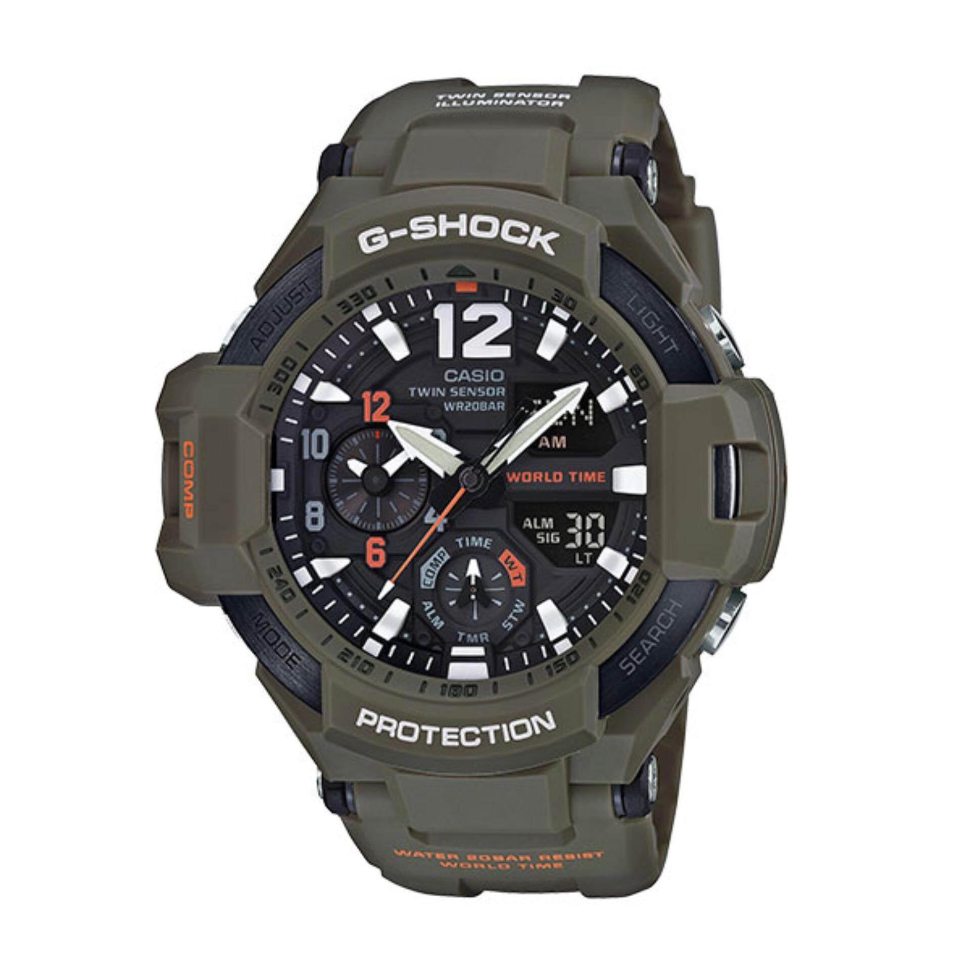 นาฬิกา G Shock Gravity Ga 1100Kh 3Adr ประกัน Cmg กรุงเทพมหานคร