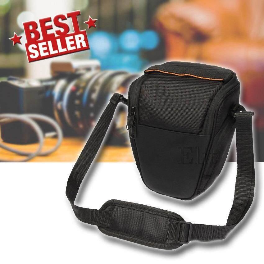 ขาย Elit กระเป๋ากล้อง กระเป๋าสะพายกล้อง Camara Case Bag Dslr For Canon Nikon Sony รุ่น Cmr004 Df Black ใน กรุงเทพมหานคร