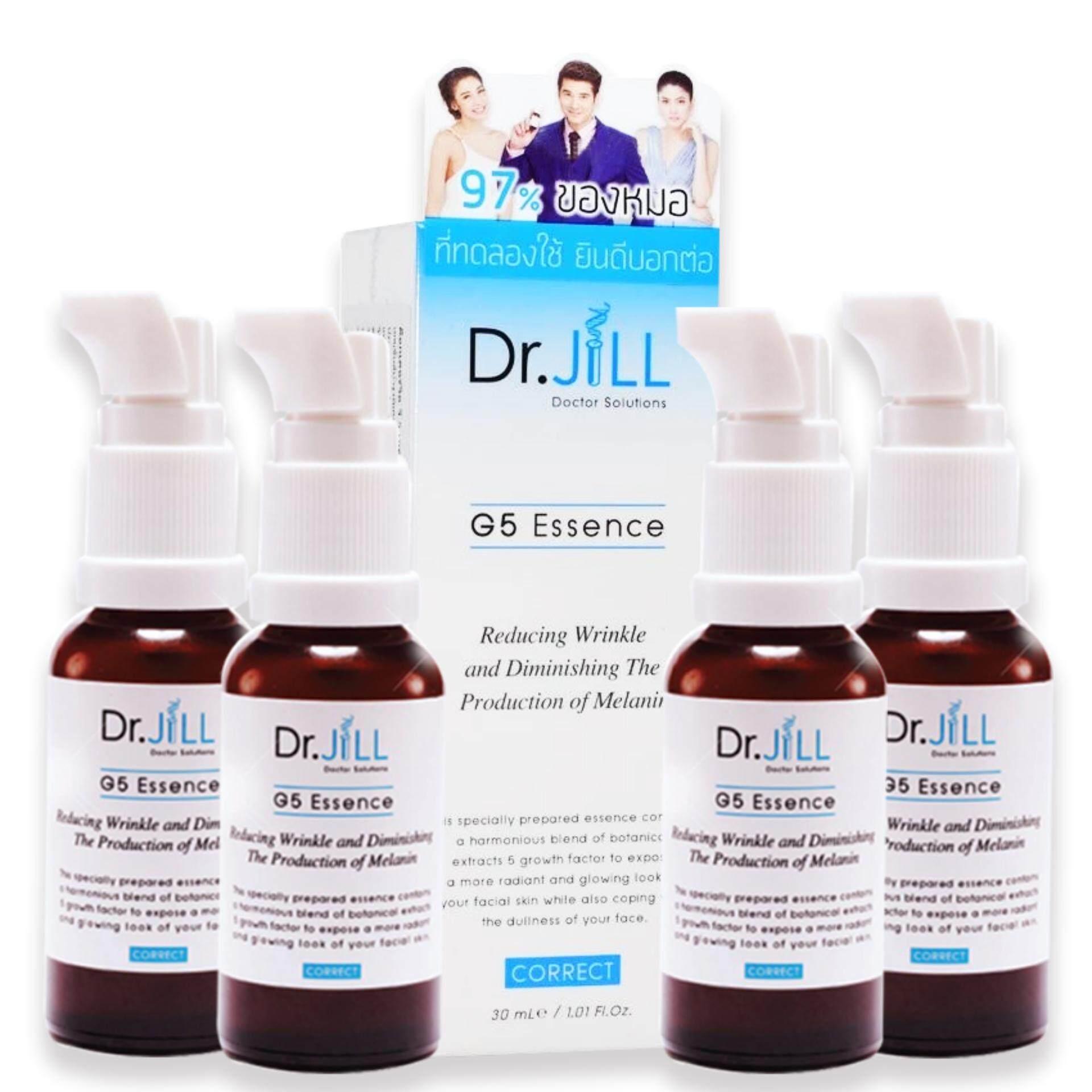 ขาย Dr Jill G5 Essence เอสเซ้นส์น้ำนมเข้มข้นด๊อกเตอร์จิล 30Ml 4 ขวด Dr Jill เป็นต้นฉบับ