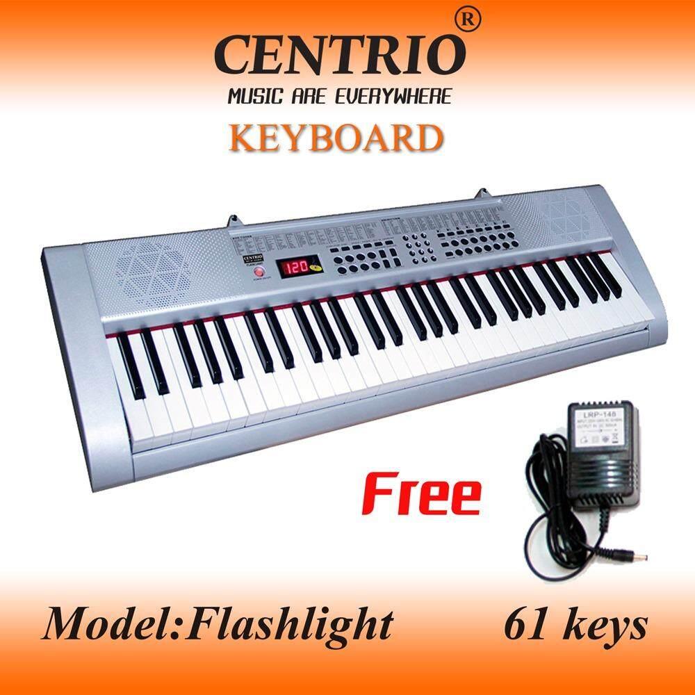 Centrioคีย์บอร์ด 61 คีย์Flash light มีไฟแสดงตามคีย์ที่กด