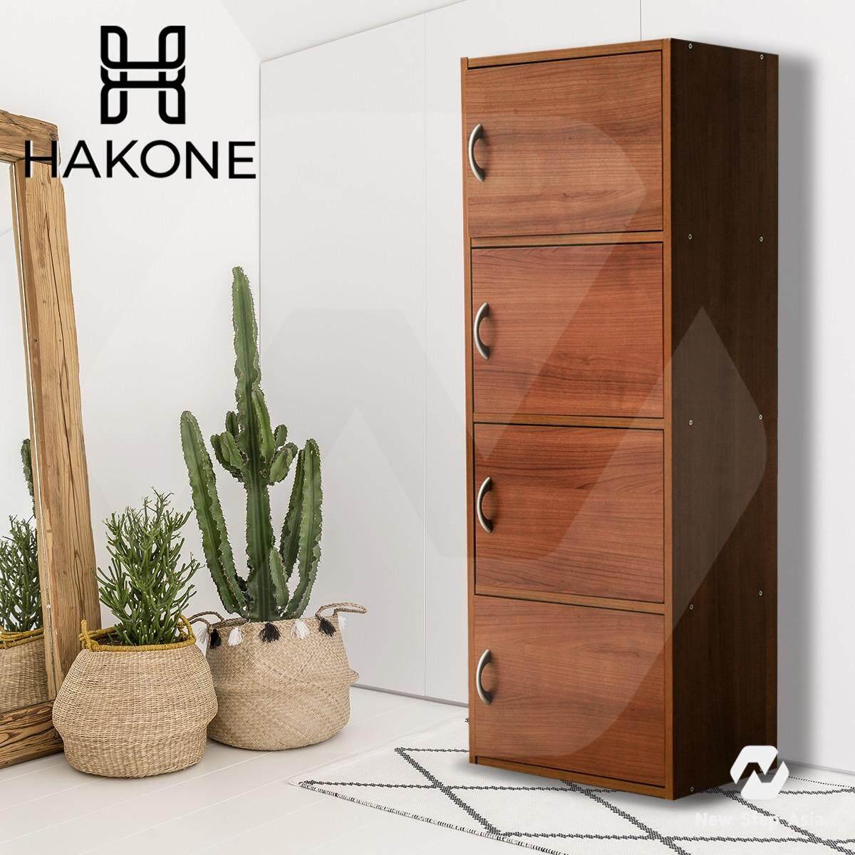 ซื้อ Hakone ชั้นวางของเอนกประสงค์ 4 ชั้น 4 ประตู มีบานเปิด ปิด ลายไม้ สีคาปูชิโน่ รุ่น Color Box 4 D Besta Image Furniture ออนไลน์ กรุงเทพมหานคร