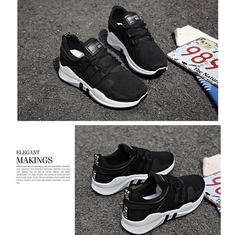 ราคา Women Sport Casual Sneaker รองเท้าผ้าใบ รองเท้าผ้าใบผู้หญิง รองเท้าแฟชั่น L09 ที่สุด
