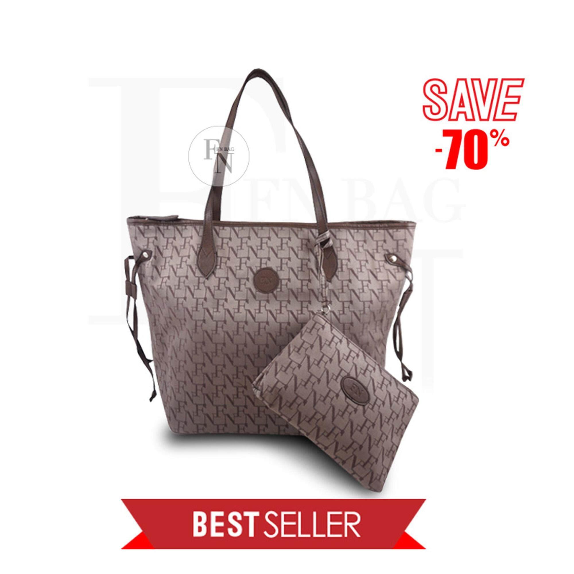 ซื้อ Fn Bag กระเป๋าTote Bag 1208 30003 003 Col Chocolate Flynow