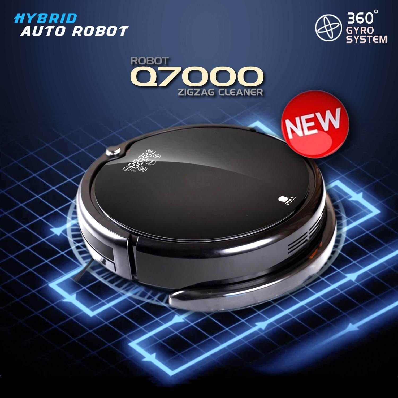 ขาย Q7000 หุ่นยนต์ดูดฝุ่นและถูพื้นแบบแท็งค์น้ำ ระบบ Hybrid Uv เดินเป็นระเบียบด้วย Gyroscope พร้อมคู่มือภาษาไทย By Digilifegadget ไทย ถูก