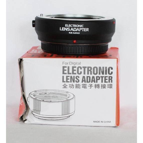 อแดปเตอร์เทียบรุ่น Olympus Mmf 1 2 เป็นระบบ Af สำหรับกล้อง Olympus Panosonic ระบบ Micro 4 3 ทุกรุ่น เช่น Omd Ep Pen Panasonic Gf G ใหม่ล่าสุด