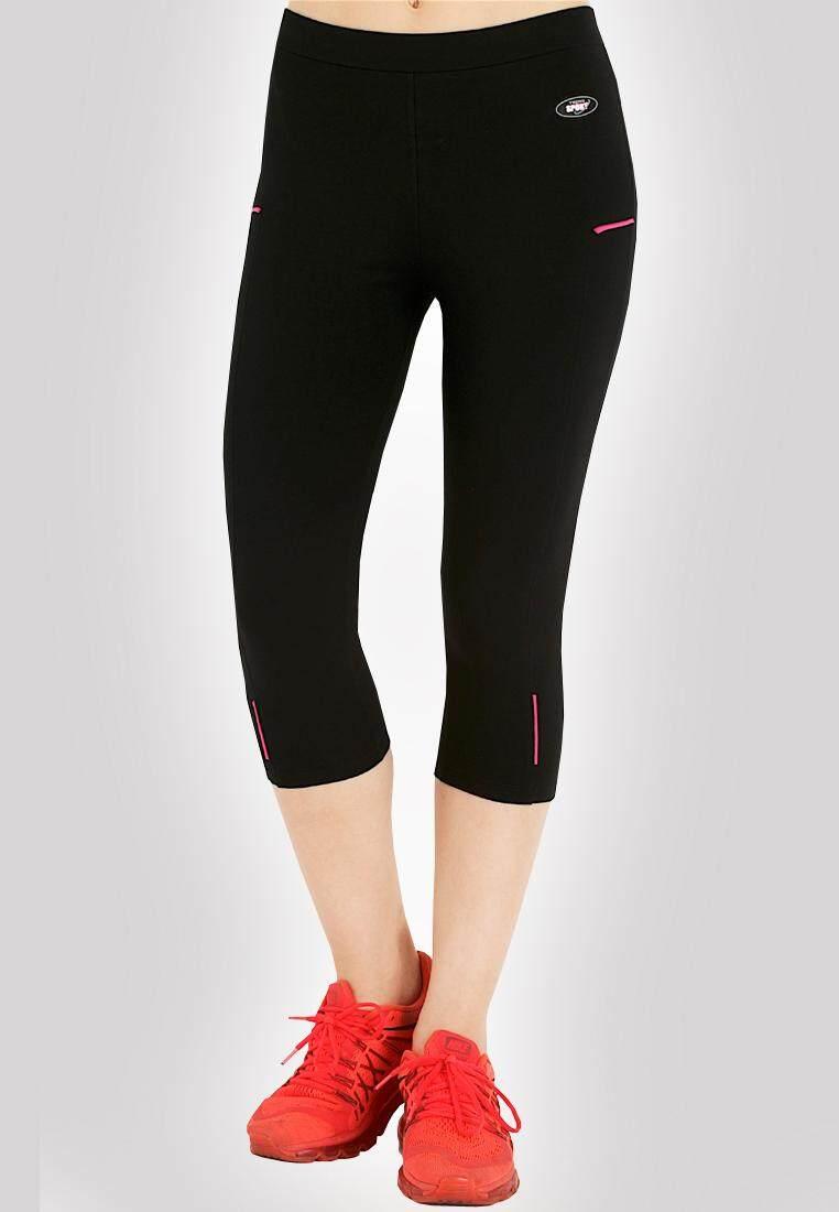 ซื้อ Teens Sport กางเกงฟิตเนส โยคะ ออกกำลังกาย 3 5ส่วน รุ่น Tcl 9 Cotton Spandex Teensports เป็นต้นฉบับ