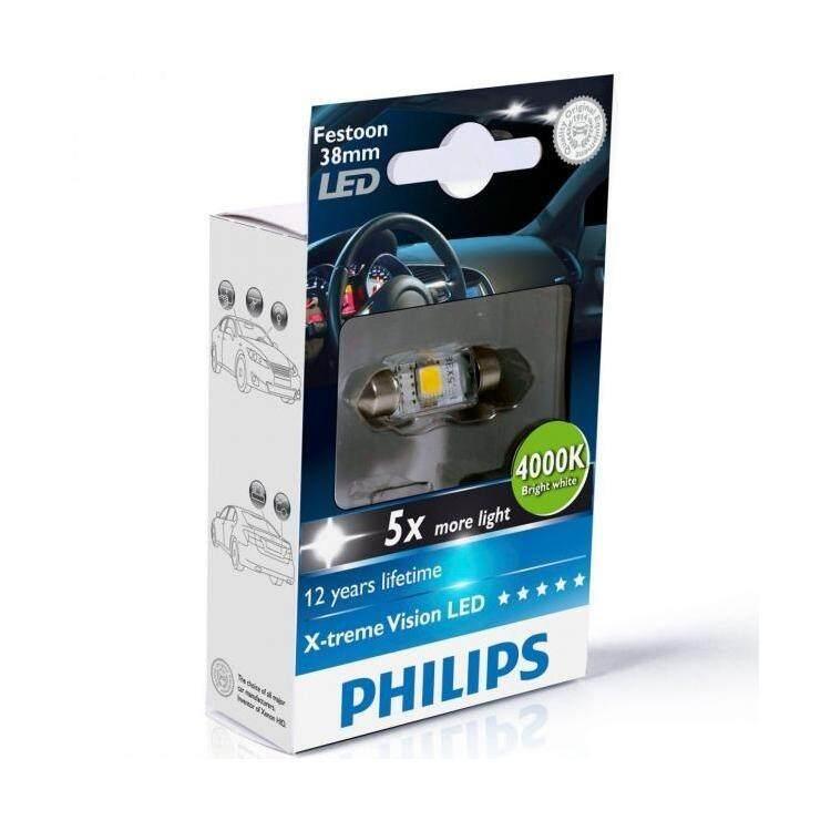 ราคา Philips X Treme Vision Festoon Led 38Mm 4000K เป็นต้นฉบับ
