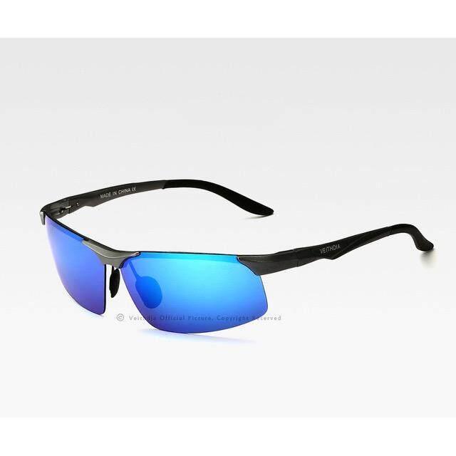 ขาย ซื้อ ออนไลน์ Veithdia อลูมิเนียมแมกนีเซียมผู้ชายแว่นตากันแดด Polarized Sun แว่นตา Night Vision Mirror แว่นสายตาผู้ชายแว่นตากันแดดชาย 6502