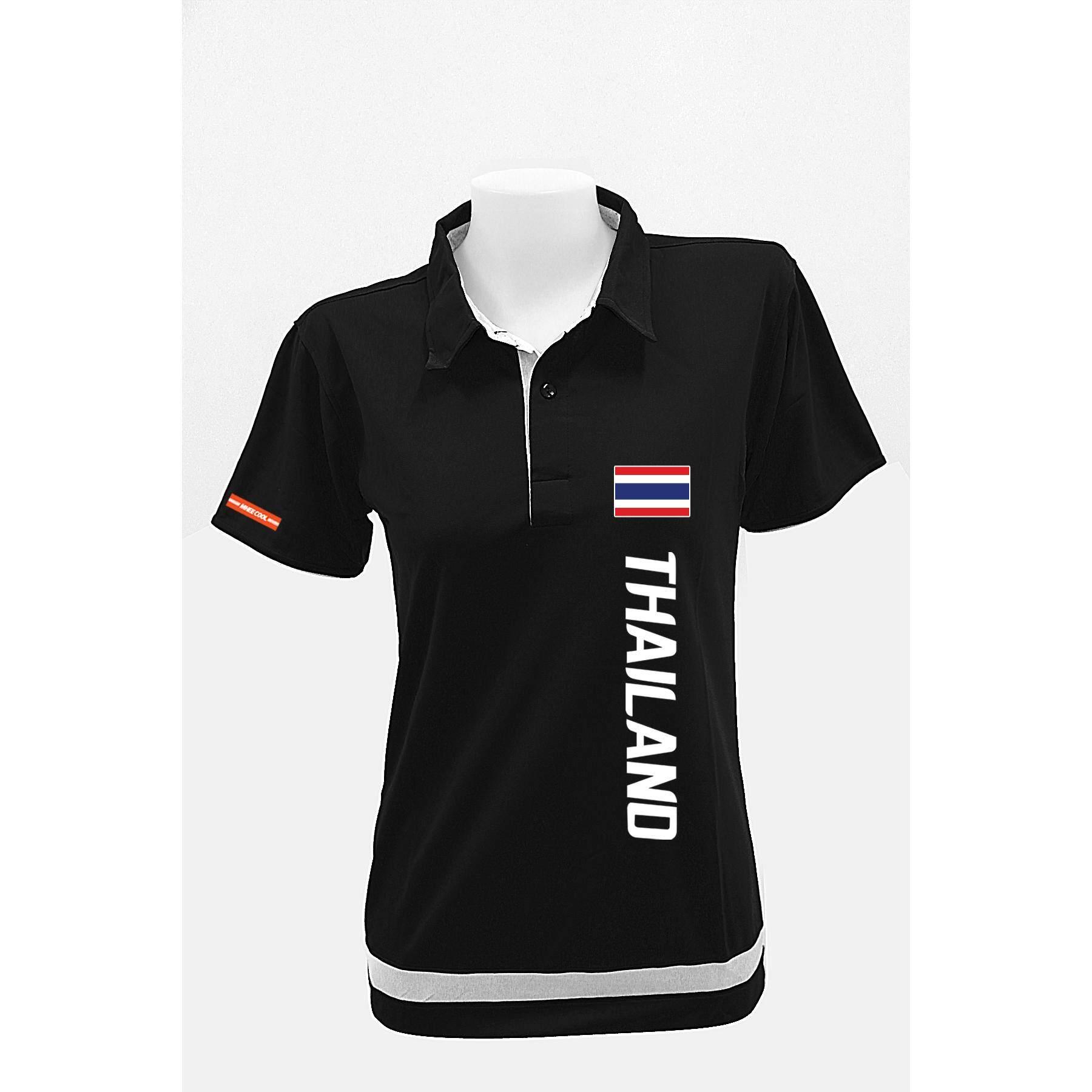 Mheecool เสื้อโปโล Pro1 สีดำ ใหม่ล่าสุด