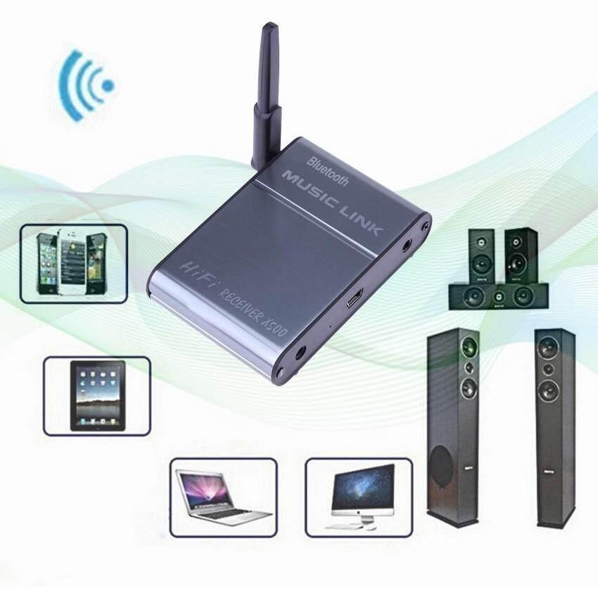 ส่วนลด Yarkonia X500 Bluetooth 4 Hifi Audio Receiver Wireless บลูทูธ Music Link For Phone Tablet Intl X500 Music Link บูลทูธรถยนต์ วิทยุบ้าน ตัวรับสัญญาณบลูทูธระบบ Hifi ตัวรับสัญญาณ