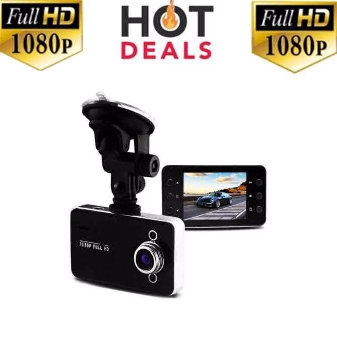 กล้องติดรถยนต์ HD Portable FULL HD1080 รุ่น K6000