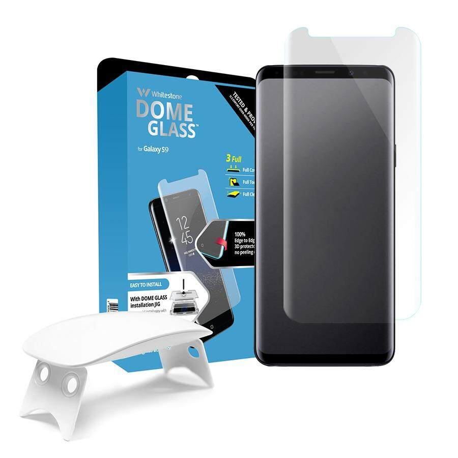 ซื้อ Whitestone Dome Glass For Galaxy S9Plus Complete Set Whitestone เป็นต้นฉบับ