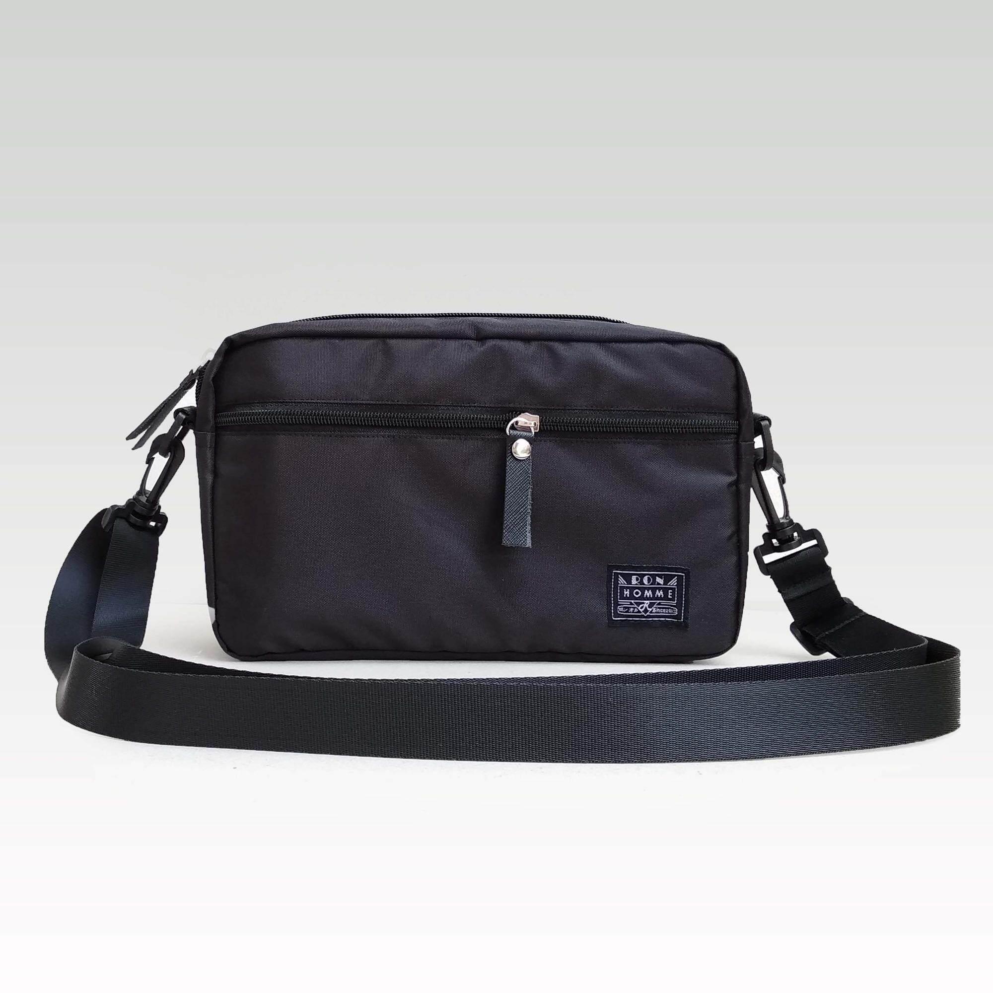 ขาย Ron Homme กระเป๋าสะพายข้าง โพลีเอสเตอร์กันนํ้า รุ่น Mini Bag9 Inch Black Ron Homme