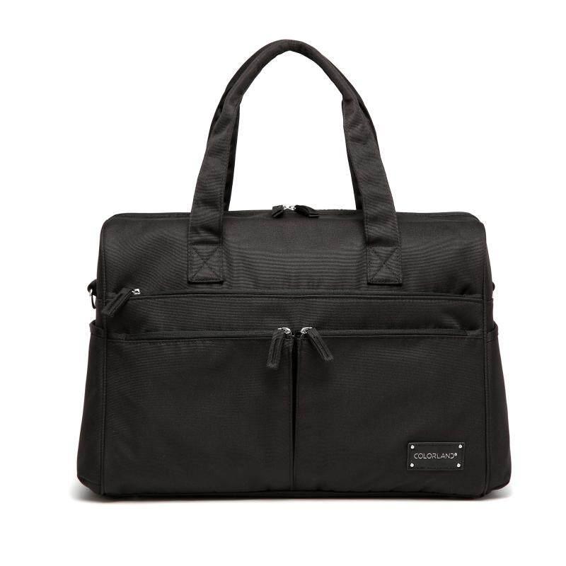 CB210 BLACK COLOR DIAPER BAG DADDY TOTE SHOULDER TRAVEL BAG (2).jpg