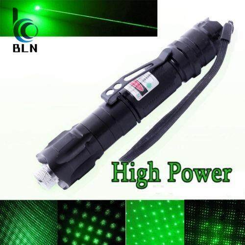 ซื้อ 【Bln Tech】High Power Green Laser Pointer Pen 10 Mile Range 532Nm Visible Beam Lazer Battery Not Included ถูก ใน ฮ่องกง