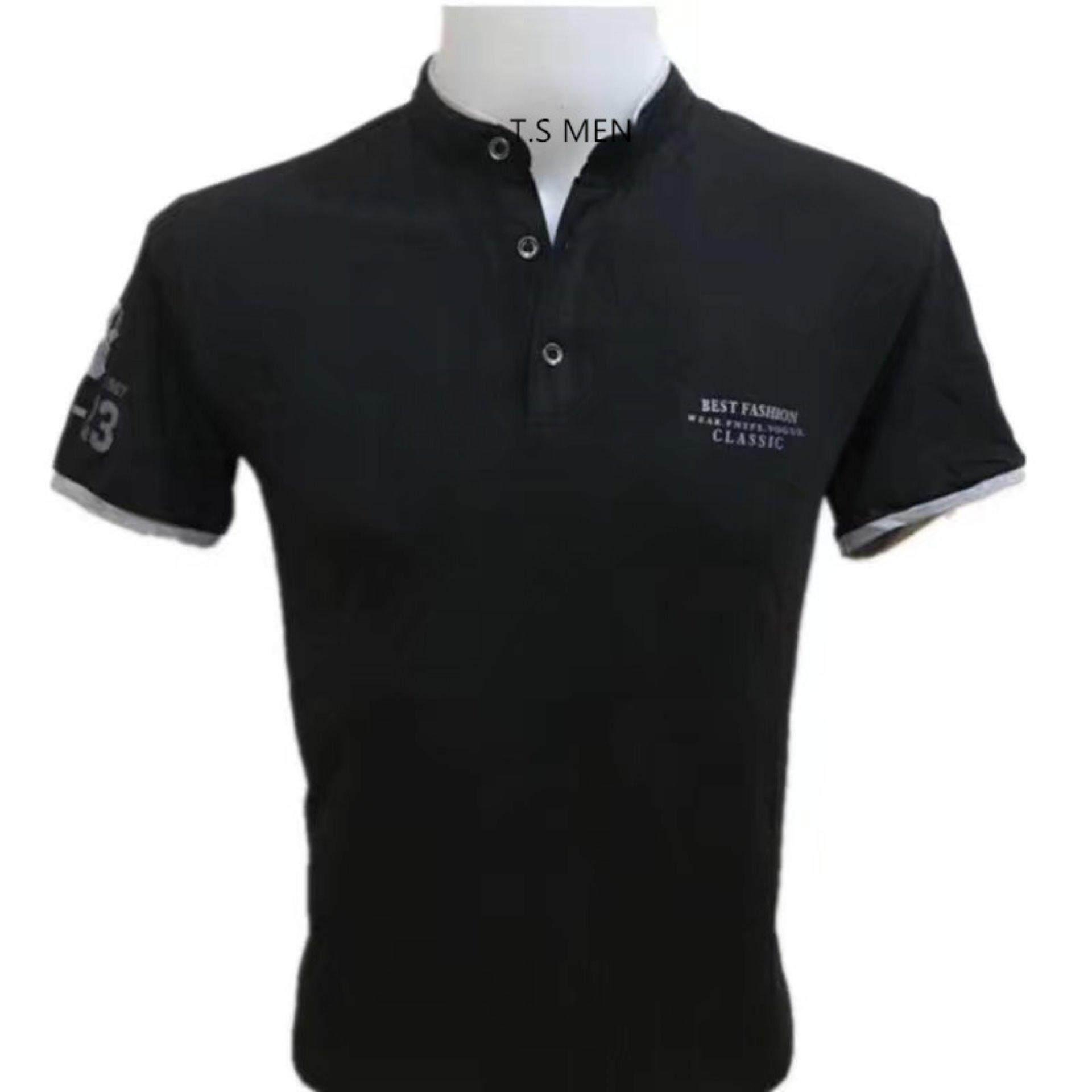เสื้อยืดผู้ชายMen S T Shirtเสื้อยืดแฟชั่นผู้ชาย Polo Shirtเสื้อโปโล ใน กรุงเทพมหานคร