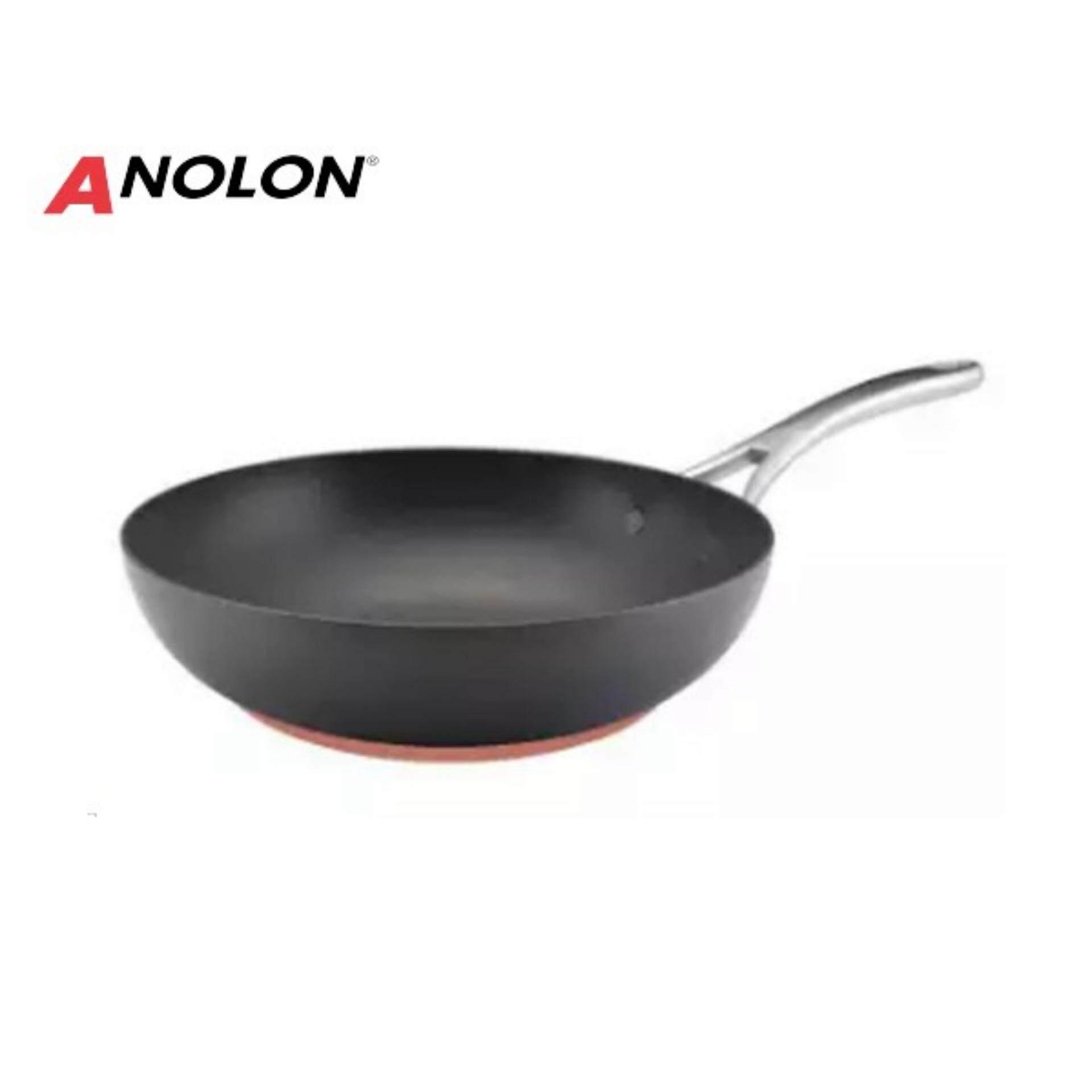 ANOLON กระทะก้นลึก รุ่น Nouvelle Copper ขนาดกว้าง 30 ซม.