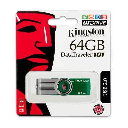 Kingston USB Flash drive 64GB รุ่น DT101 แฟลชไดร์ฟ แฟลชไดร์