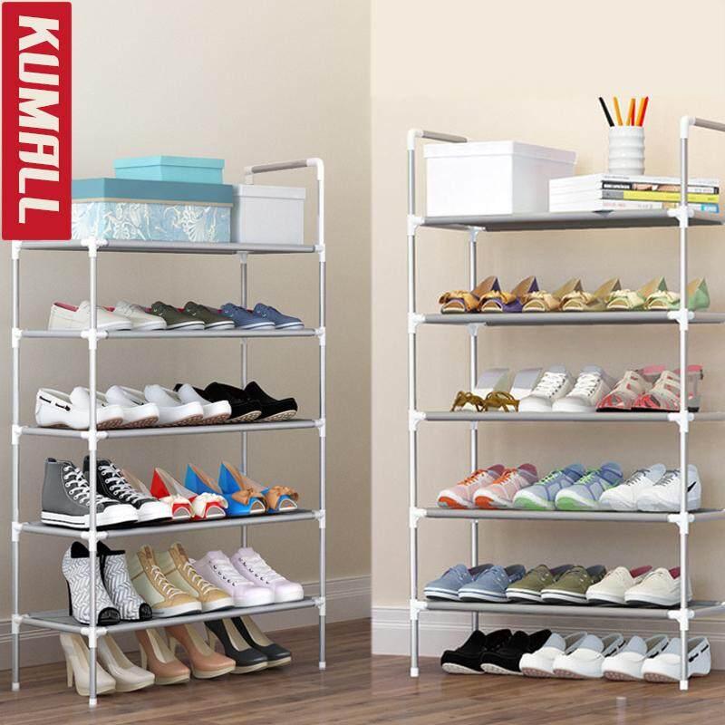 ราคา Kumall ชั้นวางรองเท้า 5 ชั้น 18 คู่ มีมือจับ ใหม่ล่าสุด