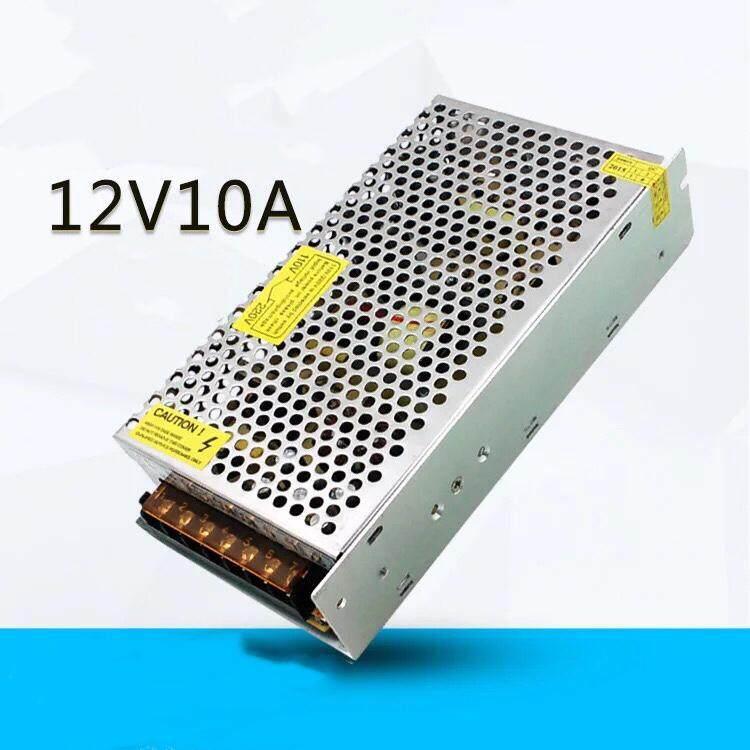 ซื้อ Switching Power Supply สวิตชิ่งเพาเวอร์ซัพพลาย 12V 10A 120W สีเงิน ถูก กรุงเทพมหานคร