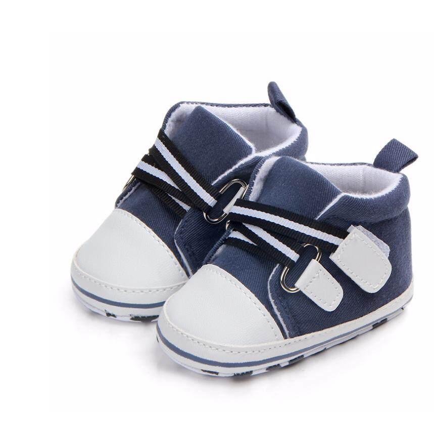 ราคา Cb รองเท้าเด็กพื้นผ้า รองเท้าเด็กเล็ก รองเท้าผ้าใบเด็ก รองเท้าเด็กหัดเดิน สีกรม รุ่น 0885 เป็นต้นฉบับ Cb