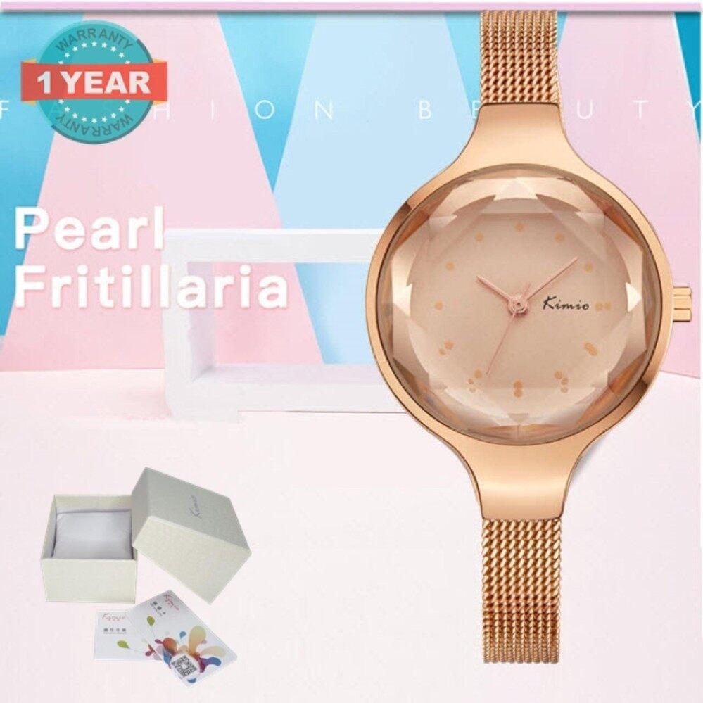 ขาย ซื้อ ออนไลน์ Kimio นาฬิกาข้อมือผู้หญิง สายสแตนเลส สีโรสโกล์ดรุ่น Kw6245