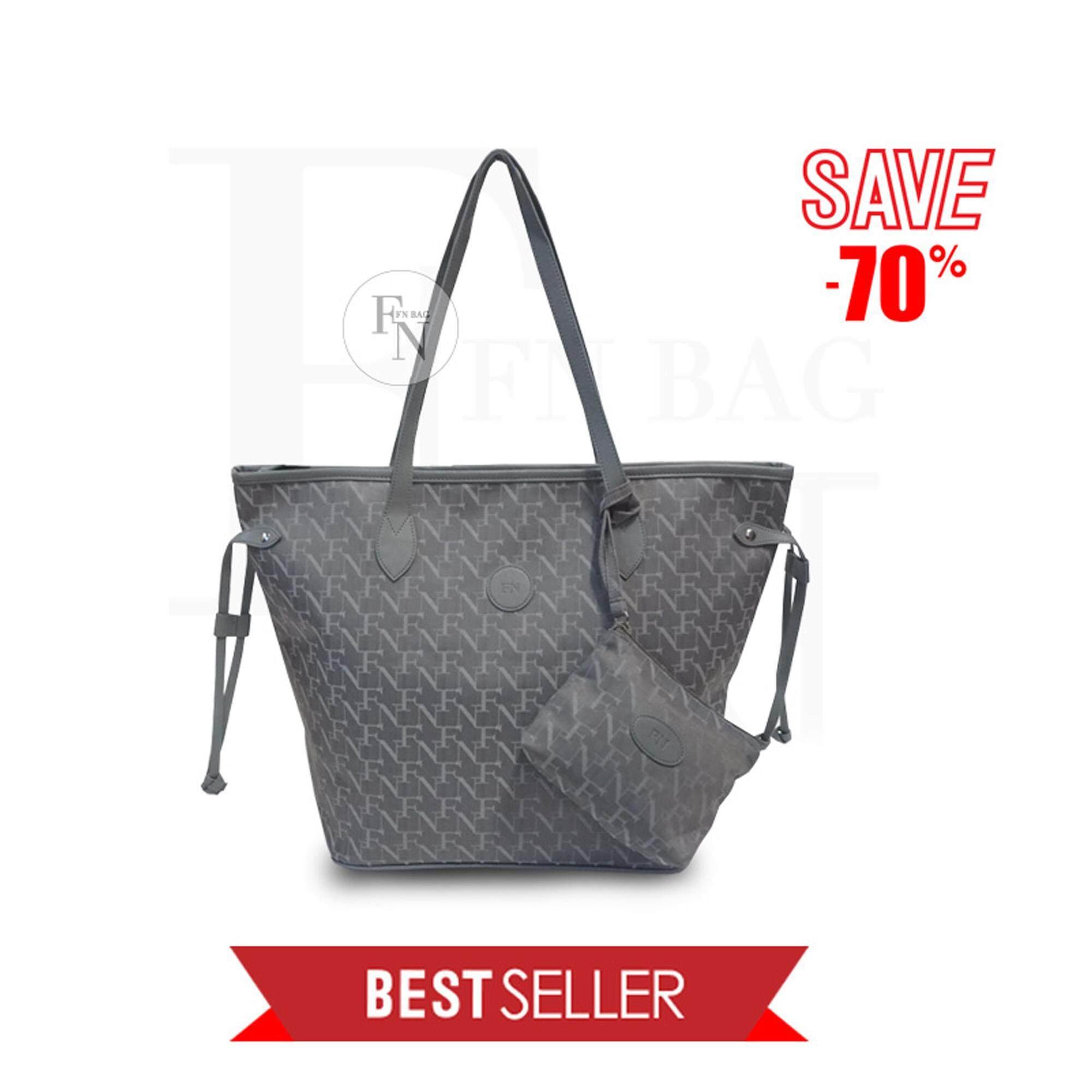 ราคา ราคาถูกที่สุด Fn Bag กระเป๋า Tote Bag 1208 30003 005 Col Grey