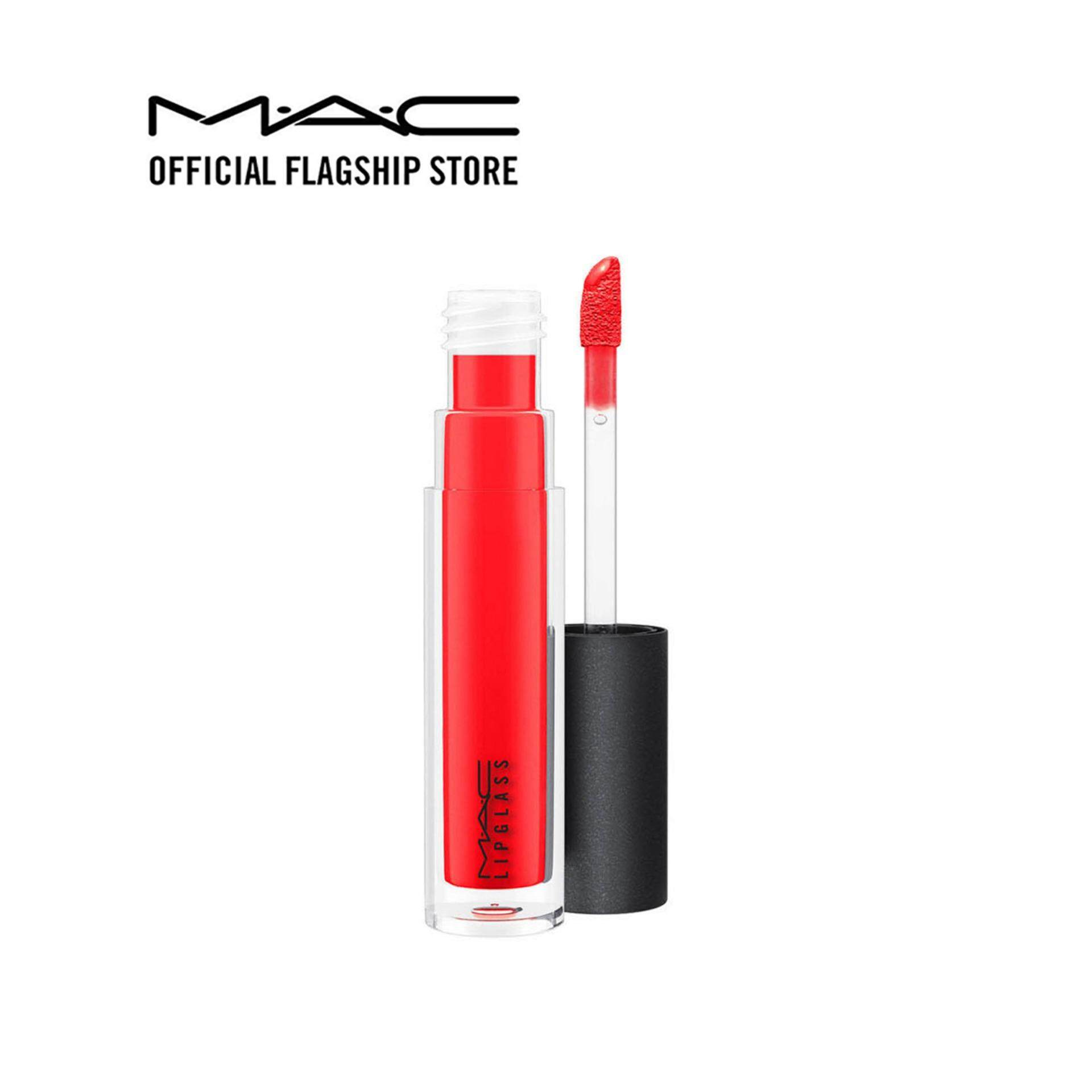 MAC LIPGLASS RUSSIAN RED