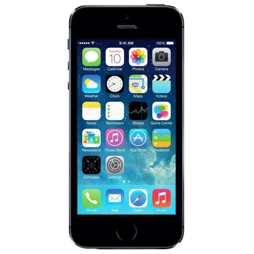 Apple iPhone5S 16 GB BLACKUnlockediPhone 5S GPS Mobile Phone iPhone5s (free case screen protector)