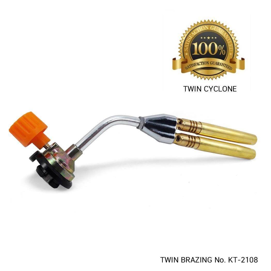 ราคา ราคาถูกที่สุด ชุด หัวพ่นไฟ Multi Purpose Torch ท่อคู่ รุ่น Kt 2108