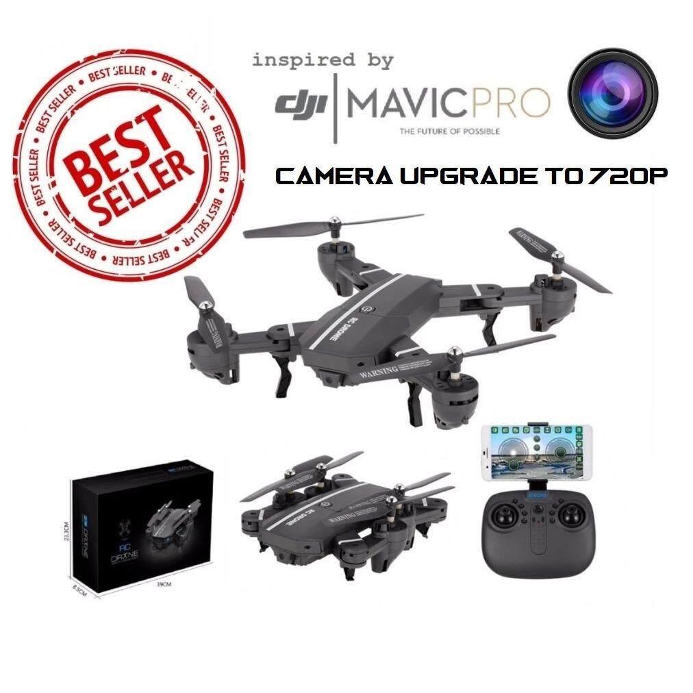 ขาย โดรนติดกล้อง Blackshark ฉลามดำ Uavs With Camera 2 4Ghz 6 Axis Gyro Remote Control Selfie Drone Wifi Fpv Quadcopter Quadcopter Drone With 720P Hd 2Mp Camera ราคาถูกที่สุด