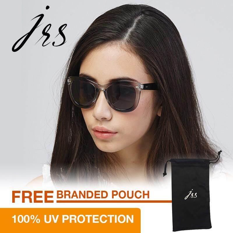 โปรโมชั่น Jrs แว่นกันแดดสำหรับผู้หญิง ทรงกรอบใหญ่สีน้ำตาลอ่อน เลนส์ป้องกันรังสี Uv400 สีน้ำตาลอ่อน J01As1144 ใน สมุทรปราการ