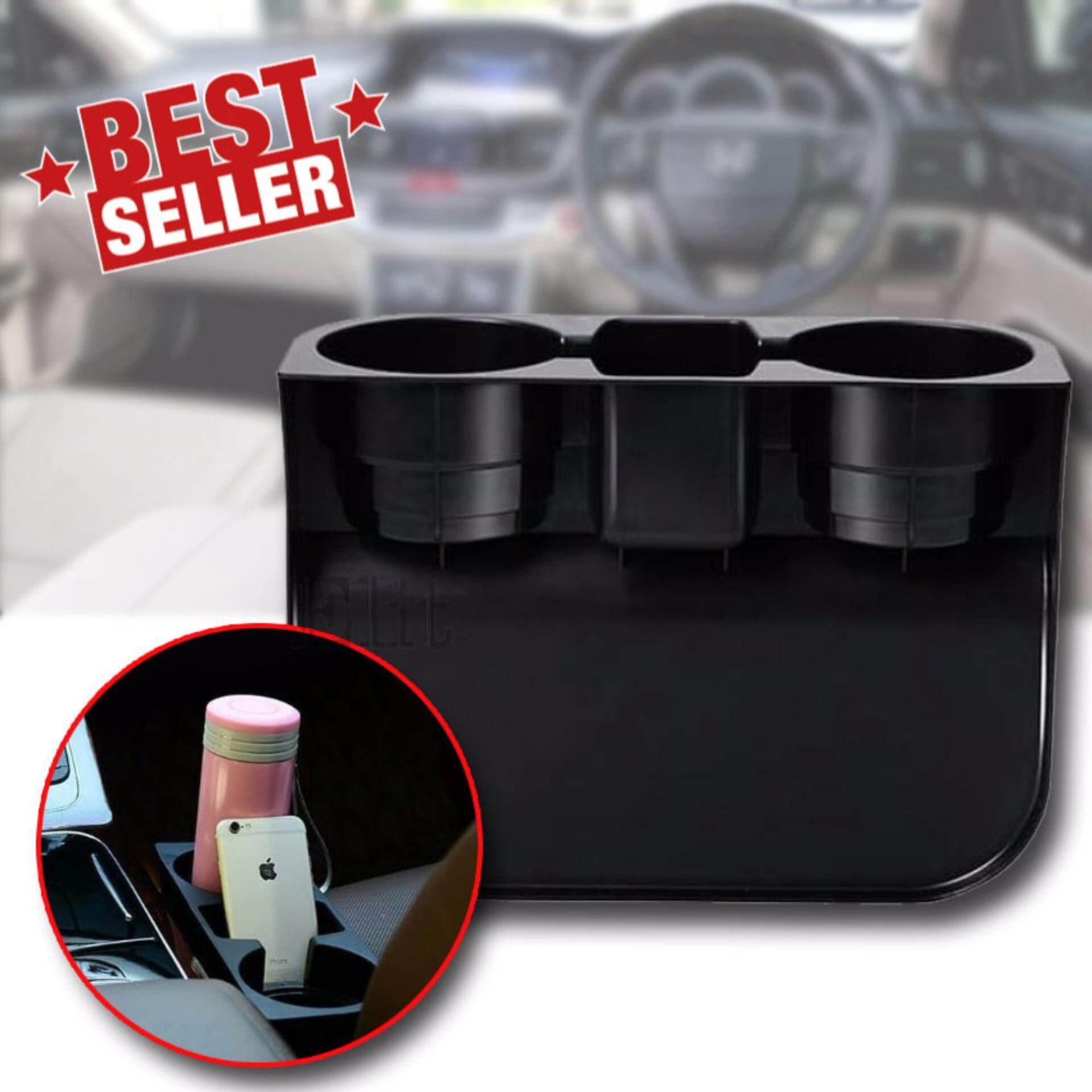 ซื้อ Elit ที่วางแก้ว เสียบข้างเบาะ ที่วางของเอนกประสงค์ในรถยนต์ Car Valet Black รุ่น Cvb204 110 ออนไลน์ ถูก