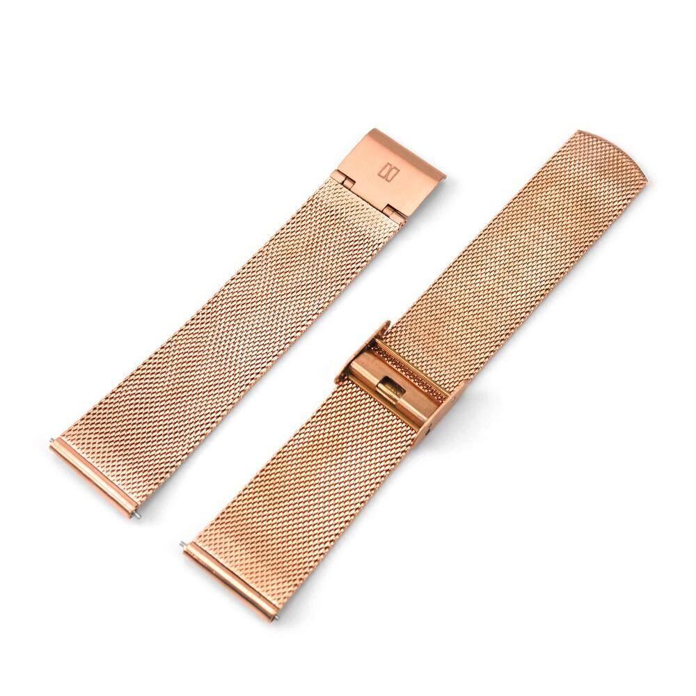 ราคา N Ix Studio สายนาฬิกาสแตนเลส Stainless Steel Mesh ขนาด 20 มม Silver Rose Gold เป็นต้นฉบับ